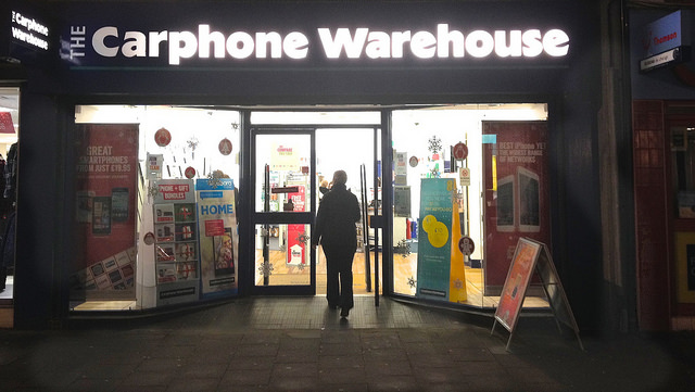 Carphone Warehouse Shop Front