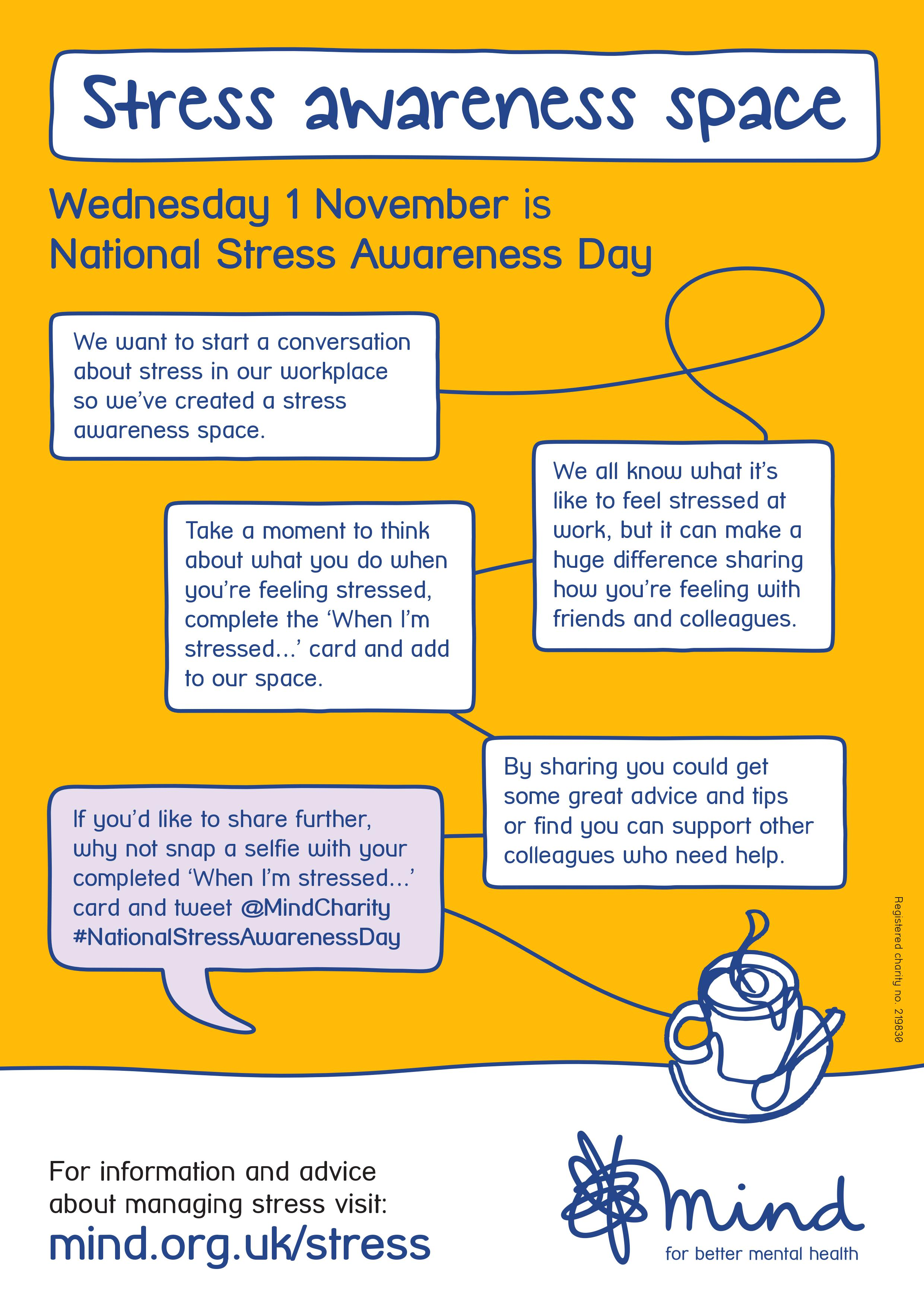 National Stress Awareness Day | Spencers Solicitors