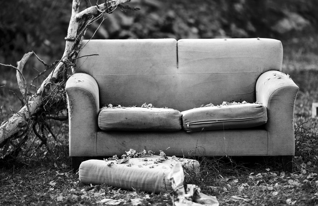 Damaged Sofa